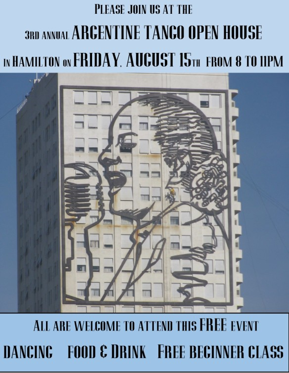 Dancing, food and friendship on Friday, August 15th, 2014