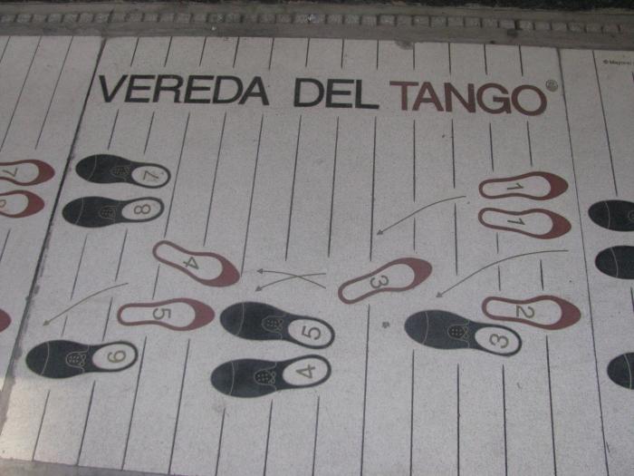 Vereda del Tango