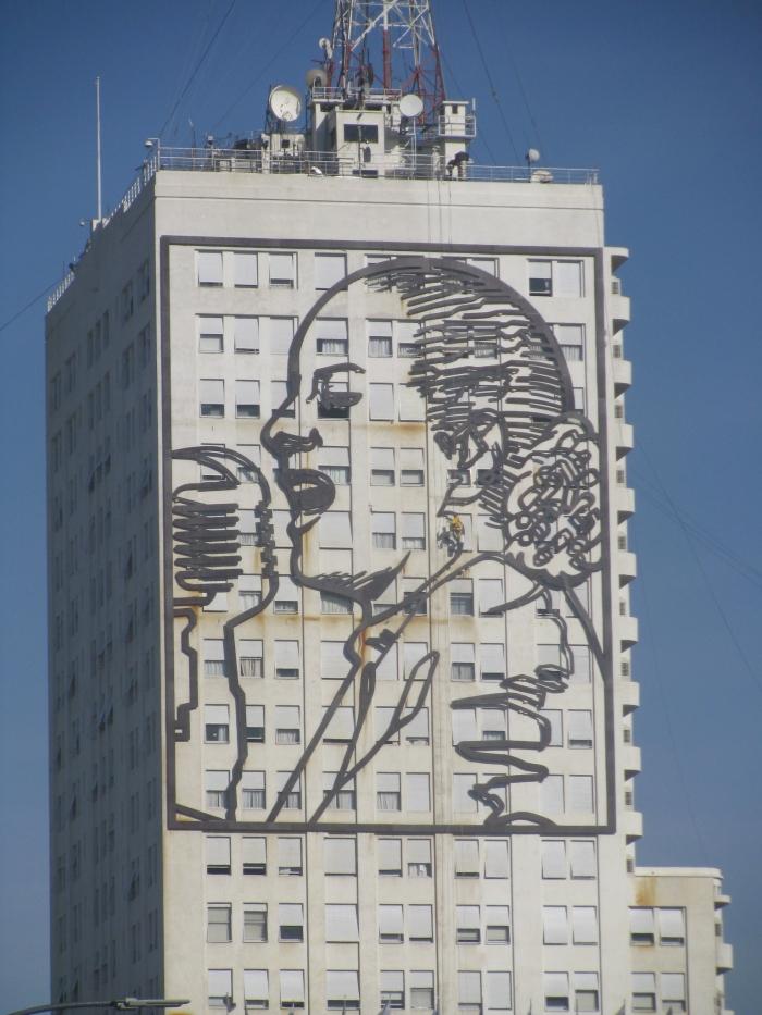 Mural of Evita