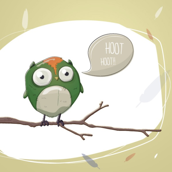 Give a hoot; come out and tango! Thanks to www.dryicons.com for the cute vector.