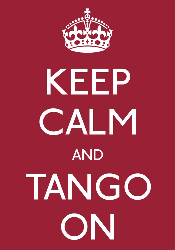 "Everyone is welcome to attend the Argentine Tango ""Just Dancing Event in Guelph on the last Sunday of the month."