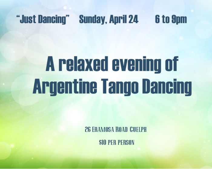 tango poster for Swansea april 2016